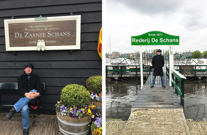 Zaanse Schans, Zaandam/Zaanstad (52° 28′ 23.71″ N, 4° 49′ 0.23″ E)...