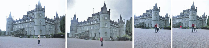 Inveraray Castle (built from 1745 to 1790) is a country house near Inveraray, Argyll on the shore of Loch Fyne...