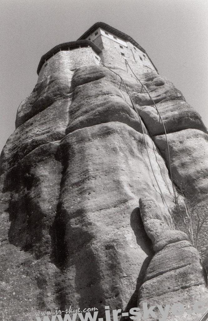 """""""Roussanou Monastery, Μετεώρων, Kalampaka 422 00 (39° 42′ 45″ N, 21° 37′ 36″ E)."""""""