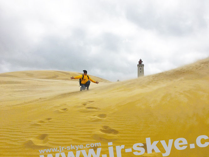 """This #Lighthouse sinks into sand: spectacular Rubjerg Knude, #NorthCoast of #Denmark (57´26′56´N9´46´28´E)/this lighthouse crashes between 2025-35 into the atlantic-o!""..."