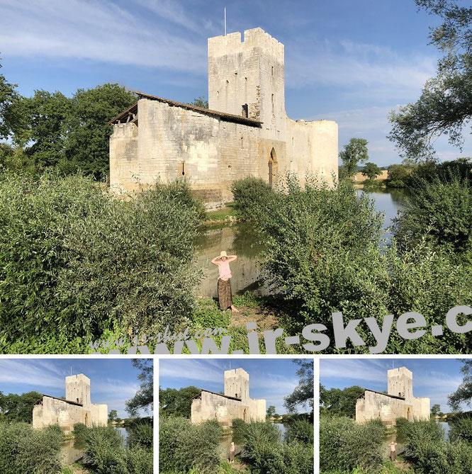 Château de Gombervaux, Vaucouleurs dans la Meuse, Région Grand Est...