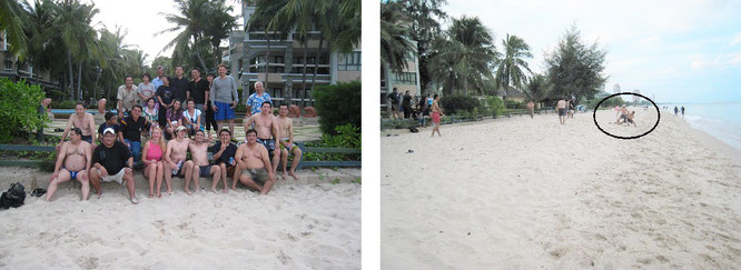 I play football all over the world, here in Hawaii among locals (21° 18′ 41″ N, 157° 47′ 47″ W)...