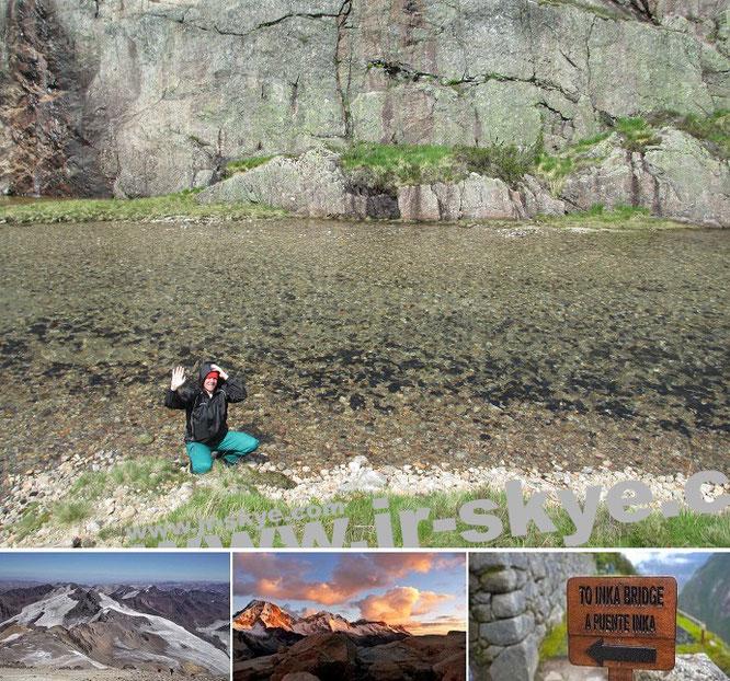 Parque Nacional Torres del Paine, Chile - 50° 58′ 59″ S, 72° 57′ 59″ W...