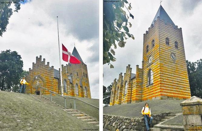 Kerk van Hobro - ein wenig wie Lego!