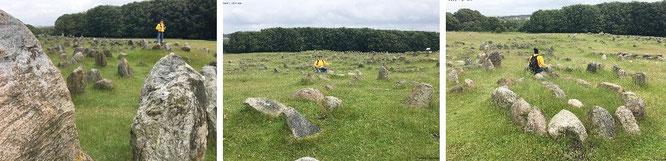 Bereits weit im Norden Dänemarks: Das unglaubliche Eisenzeit- und Wikinger- Gräberfeld von Lindholm Höje bei Aalborg (400 - 1.000 n. Chr.). Für die 682 Gräber (davon 150 Schiffsformationen) solltet Ihr einen halben Tag Eurer Lebenszeit einplanen...