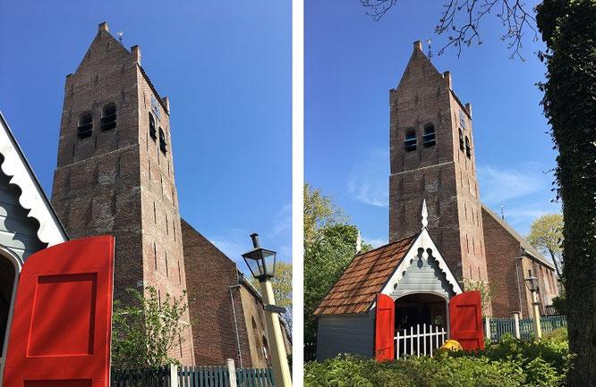In keinem Reiseführer vertreten: das winzige Freilichtmuseum Allingawier, 8 Kilometer östlich von Makkum...