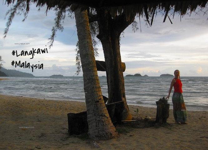 "Aus meinem Twitter-Feed: ""With my travel companion in Malaysia - beautiful Langkawi""..."
