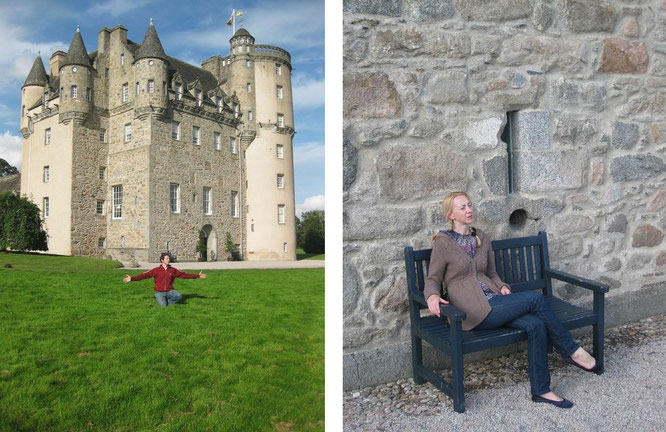 "Castle Fraser, Kemnay/Aberdeenshire (57° 12′ 10.8″ N, 2° 27′ 38″ W). ""First learn building castles in sky! If you are able to build castles in sky, then you can build them anywhere."" Saad Wakeel"