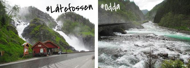 Låtefossen, Odda/Hordaland (59° 56′ 52″ N, 6° 35′ 7″ E)...
