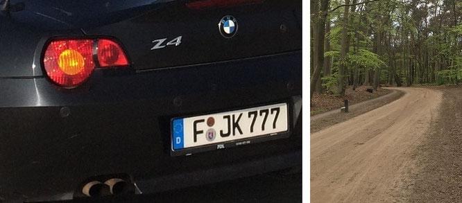 """The Song of Seven: Hengeloseweg, zwischen De Heikamp und De Zevensprong - Ziel aktueller Reise."""