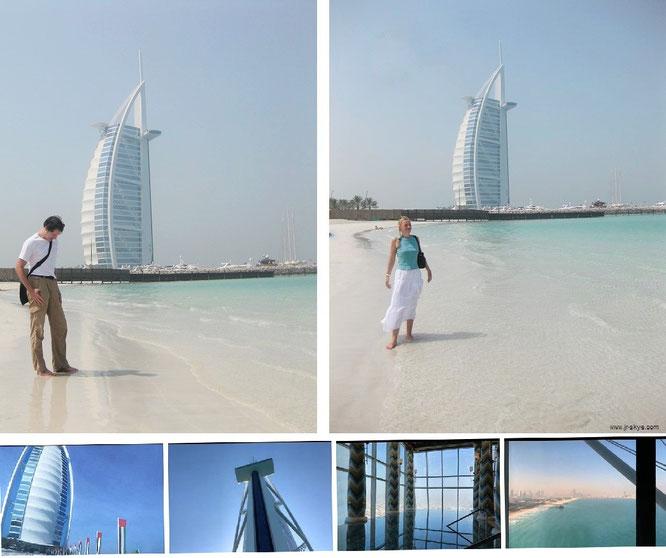 Burj el Arab, VAE / Dubai (25° 8′ 28″ N, 55° 11′ 8″ E)...
