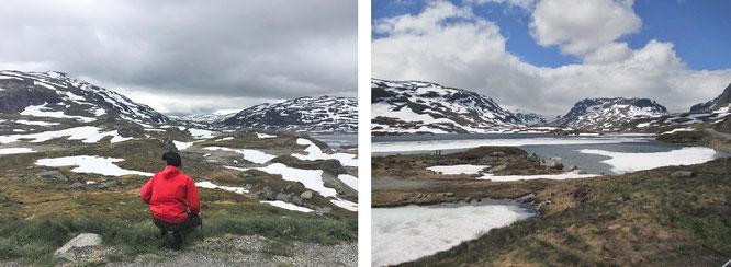 Nur wenige Kilometer bis zum Nordkap: Nordkapp Kommune, Provinz Finnmark (71° 1′ 0″ N, 25° 47′ 0″ E)...