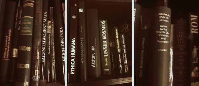 """""""In Bibliotheken fühlt man sich wie in der Gegenwart eines großen Kapitals, das geräuschlos unberechenbare Zinsen spendet."""" Johann Wolfgang von Goethe"""