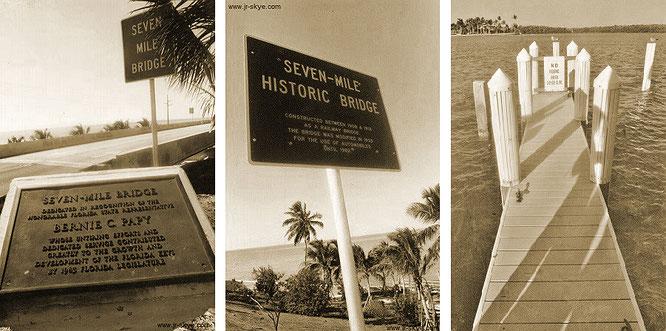 Auf dem Weg zum großen Ziel - über den Overseas Highway nähere ich mich Key West. Der Höhepunkt: Überfahrt der Seven Mile Bridge...