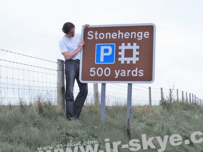 Immer wieder Stonehenge. Oft auf dem Weg in den britischen Westen - oder in Richtung Nord, Ost, Nordost,  Nordnordost oder Südwest mit Zielen in Devon, Dorset, Somerset, Bristol, Cornwall, Poole oder Wiltshire...