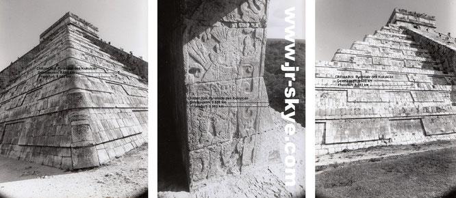 Chichén Iizá & Cobá, Mexico. German Edition: Von Mexiko (Cobá/Chichén Itzá/Tulum 18° 50′ 42″ N) über Guatemala (Tikal, 17° 13′ 15″ N) nach Panama (9° N, 80° W). Von Kolumbien nach Argentinien (35° S, 58° W) und über die Drake Passage in die Antarktis...