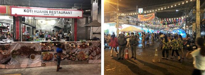 Koti Restaurant und Umgebung (zu Songkran)...