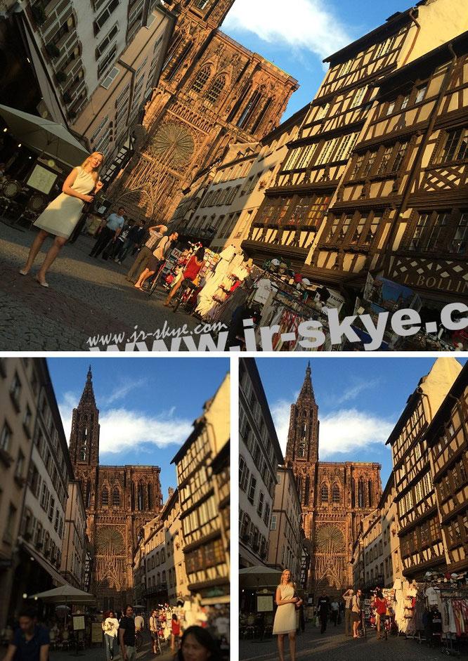 Straßburg, Cathédrale Notre-Dame (Münster/48° 35′ 1″ N, 7° 44′ 53″ E)...