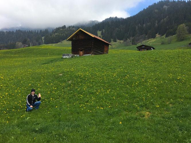 Auf Wiedersehen...aus dem Dreiländereck Liechtenstein, Österreich und Schweiz...