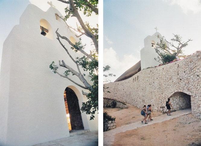Südlich der Florida-Keys sind es oft minimalistische Bauwerke wie diese kleine Kirche, die mich teilweise stundenlang in ihren Bann ziehen...