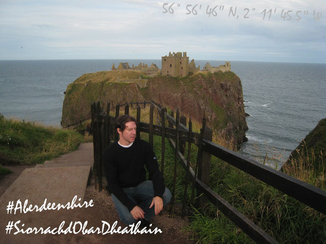 Jörg Kaminski Gelnhausen Nordsee Atlantic Ocean Great Britain Insel Island Wild Sea dark Castle