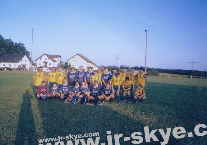 """I organized a match against Kreisliga Club """"SG Waldensberg"""" in the Evening Sun of October. A remarkable football afternoon with plenty of goals (the most in my football history) on both sides: SG Waldensberg - FC KNT 8:14 (2:5)!"""
