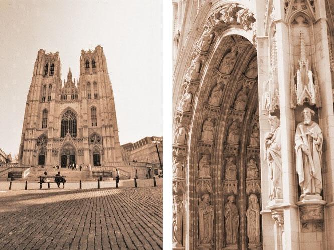 Kathedrale St. Michael und St. Gudula, Brüssel (50° 50′ 52″ N, 4° 21′ 37″ E)...