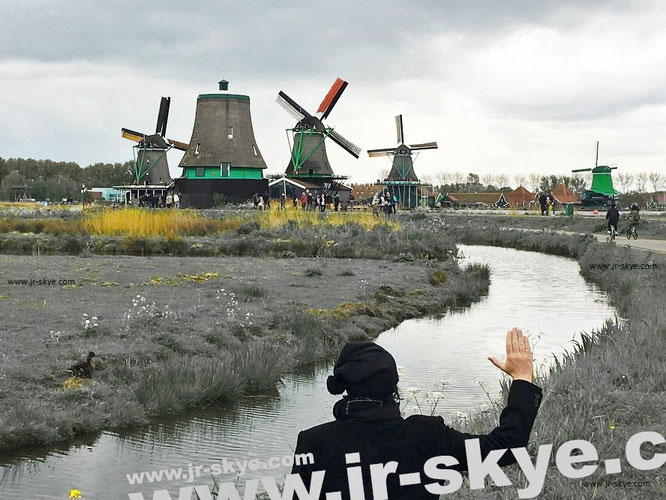 """The Broken Windmill: Zaanse Schans, Zaanstad/ Zaandijk – 20 km north of #amsterdam Great location in central europe #netherlands #travel."""