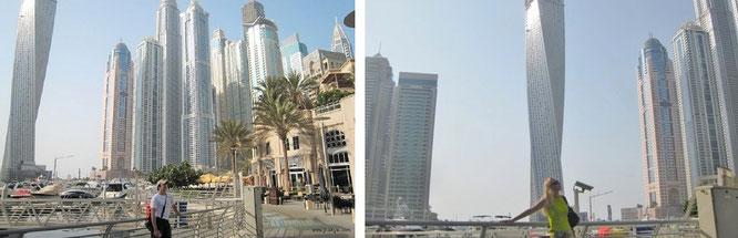 Dynamischer Turm: Canyan Tower (mit Mona-Liza), VAE / Dubai (25° 8′ 28″ N, 55° 11′ 8″ E)...