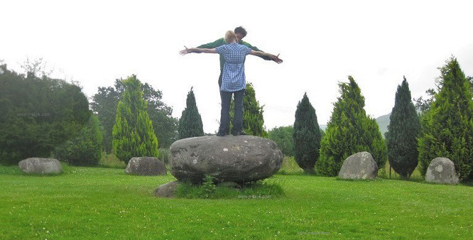 """@Clea #Sligo """"The Old Ways: dancing until midnight at Stone Circle of Kenmare (Druid´s Circle)/Boulder Burial, 2.500 BC, Kerry, Republic of Ireland - 51° 52′ 41.8″ N, 9° 35′ 18.77″ W."""""""