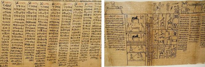 Ägyptisches Totenbuch, etwa 350 v. Chr.!