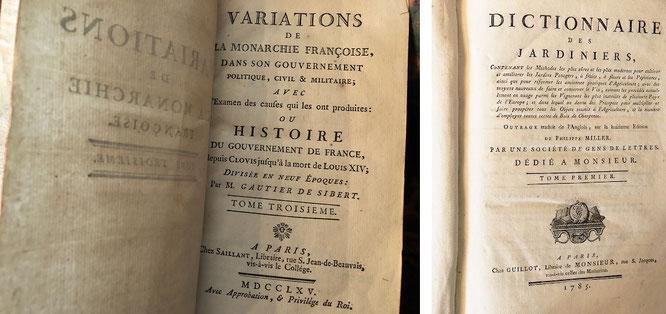 Historische Lexika, 17. Jahrhundert. Bibliothèque nationale de France (Site François-Mitterrand), Paris