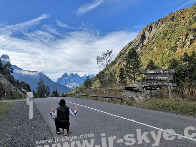 Col des Montets (1.461 Meter) mit Blick auf Aiguilles Rouges, Haute-Savoie (französische Alpen), nach Teilbesteigung des Aiguille Verte…