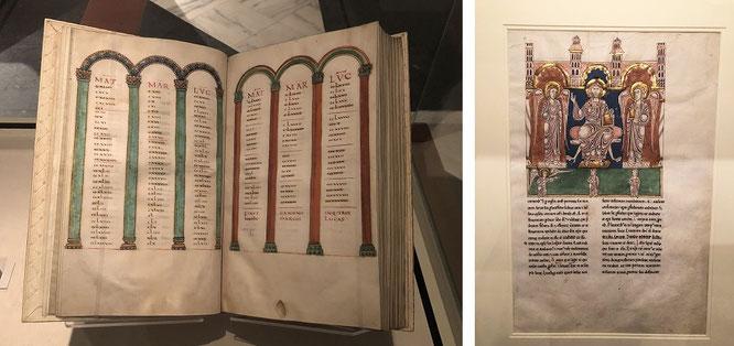 Veröffentlicht in den Jahren 825-850: Evangelium aus Metz, Frankreich (The Cloisters Collection)...