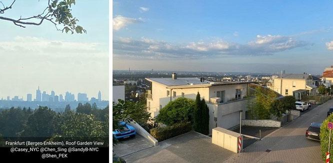 Frankfurt (Bergen-Enkheim), Roof Garden View @Caye_NYC @Chen @SandyB @Shen_PEK #Home