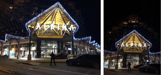 ...eine weitere Übernachtungsmöglichkeit in Chamonix: Alpina Eclectic Hotel!