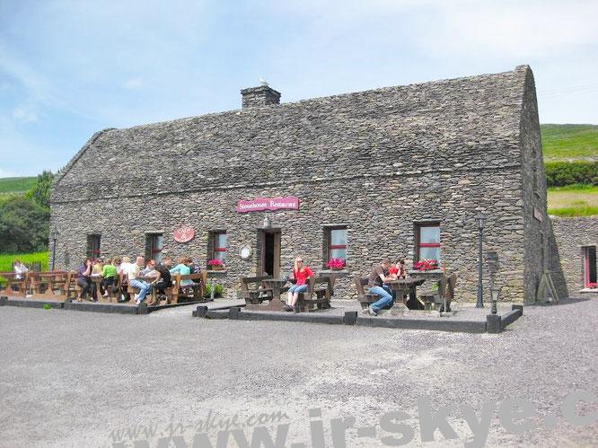 Stonehouse Restaurant, Slea Head Drive, Ventry - grandioser Ausblick auf Atlantik und Cathair na BhFionnurach inklusive!