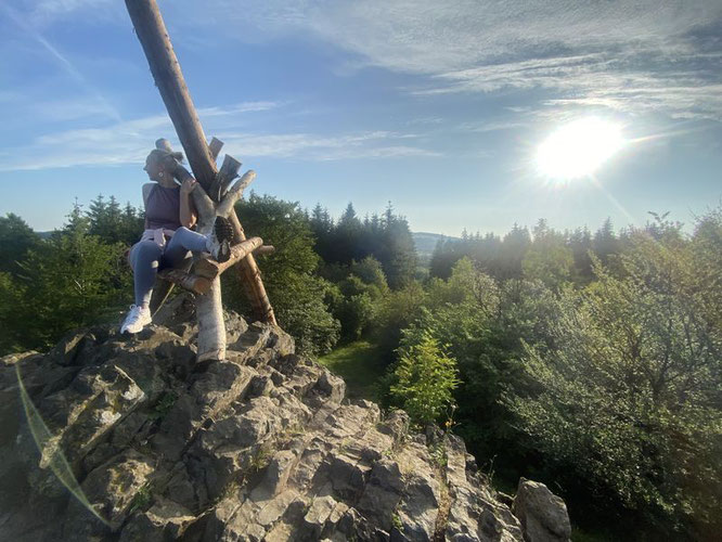 ...on the summit of Bilstein, Vogelsberg (666 m) / GER - 50° 29′ 44.98″ N, 9° 12′ 10.61″ E
