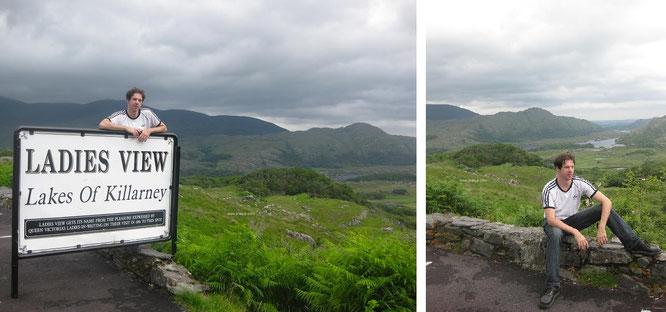 """Nicht nur im Viktorianischen Zeitalter als Viewpoint genutzt: """"Ladies View"""" thront auch für Euch zur Rundumsicht über Upper Lake und seinem angrenzden Gelände. Für mich einer der schönsten Flecken innerhalb der Grafschaft Kerry..."""