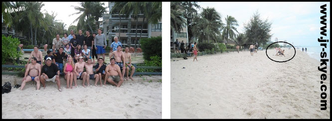 I play football all over the world, here after an 3-hour tournament  in Hawaii among locals (21° 18′ 41″ N, 157° 47′ 47″ W)...