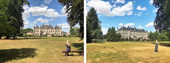 Château des Monthairons, 55320 Dieue-sur-Meuse, Frankreich - Perspektive B und C