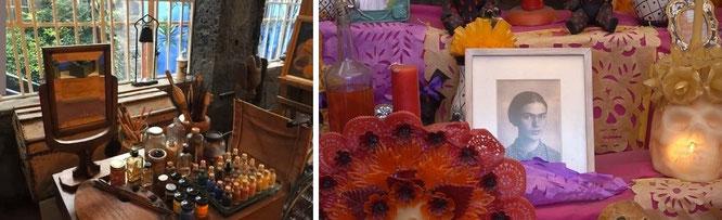 """""""Ich male Blumen, damit sie nicht sterben."""" Frida Kahlo. Zu Besuch in Coyoacán, 04100 Ciudad de México, CDMX, Mexiko!"""