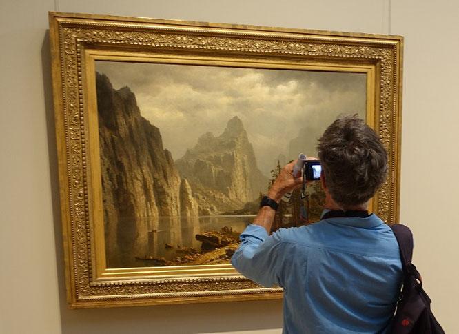 @Ryan ...you...and Albert Bierstadt (Merced River, Yosemite Valley, 1866 - Oil on canvas, 36 x 50 in./91.4 x 127 cm)  - photographed by me. Metropolitan Museum of Art #MET #NYC