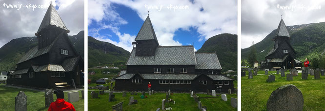 """Most of the surviving Stave Churches are located in Norway."""
