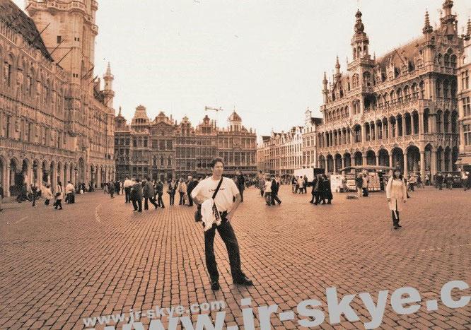 Mein Standort: UNESCO-Weltkulturerbe Grote Markt/Grand-Place/Großer Markt (niederl., franz., dt.), Brüssel (50° 50′ 48″ N, 4° 21′ 8″ E)...