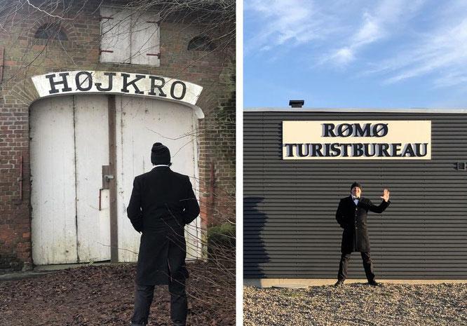 """""""Den störste skridt er gennen dören/Der größte Schritt ist der durch die Tür."""" #Dänisches #Sprichwort #Höjkro"""