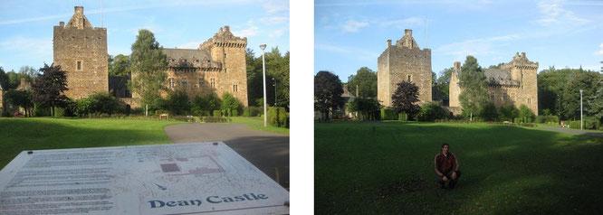 """Dean Castle, im täglichen Schlosssprachgebrauch auch simpel """"Kilmarnock Castle""""..."""