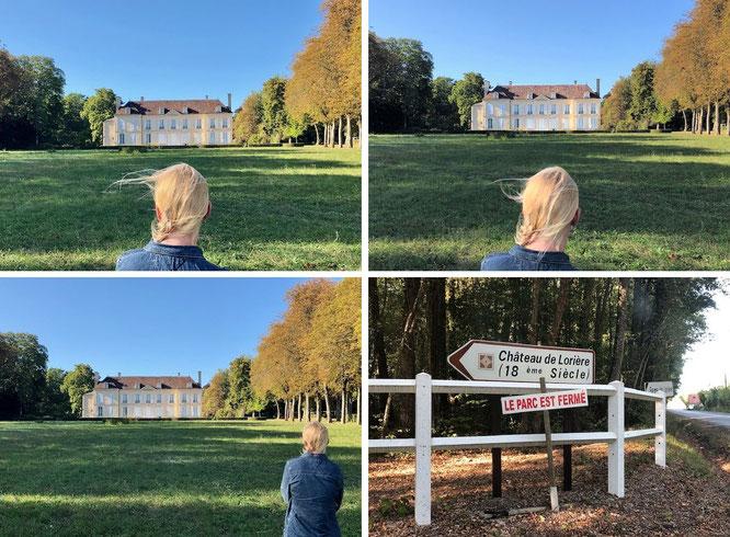 Château de Lorière, La Rouge, 61260 Val-au-Perche, Département Orne, Normandie (48° 15′ 50″ N, 0° 41′ 17″ E)...