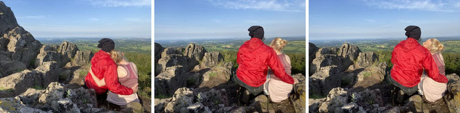 Vogelsberg - multitude of overlapping basalt terraces: Bilstein/GER - 50° 29′ 44.98″ N, 9° 12′ 10.61″ E