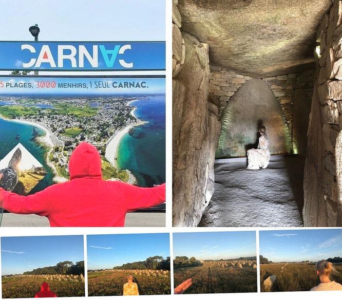 Die unglaublichen Steinreihen von Carnac - Vollmond inklusive!